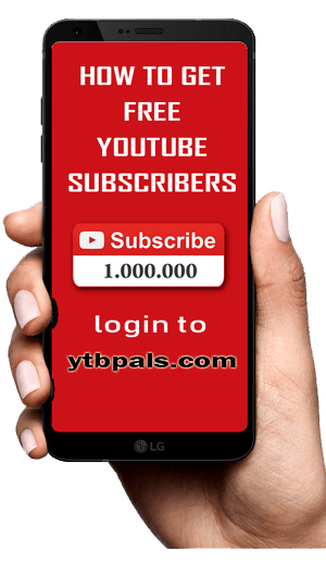 Get Free Youtube Subscribers with ytbpals